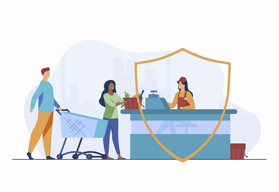 How Can You Keep Retail Employees Safe with Zapoj CEM? zapoj vectors