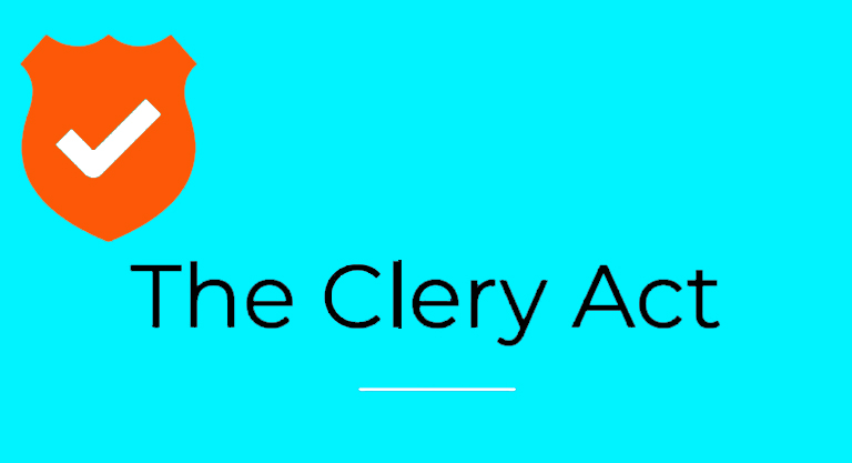 Be compliant with the Clery Act