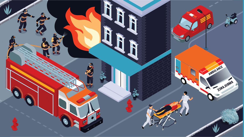Facilitating situational awareness and emergency response - zapoj vectors