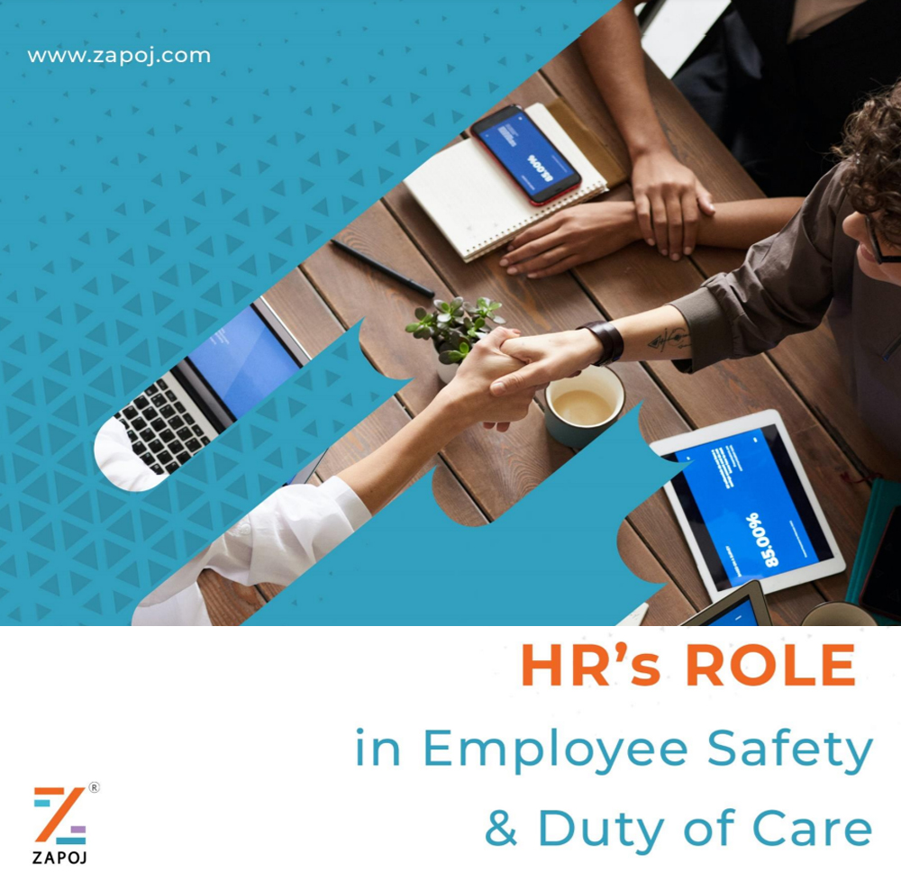 HR role in employee safety - zapoj product material