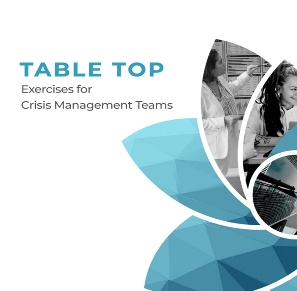 TABLE TOP Exercises for Crisi Management Teams - zapoj product material