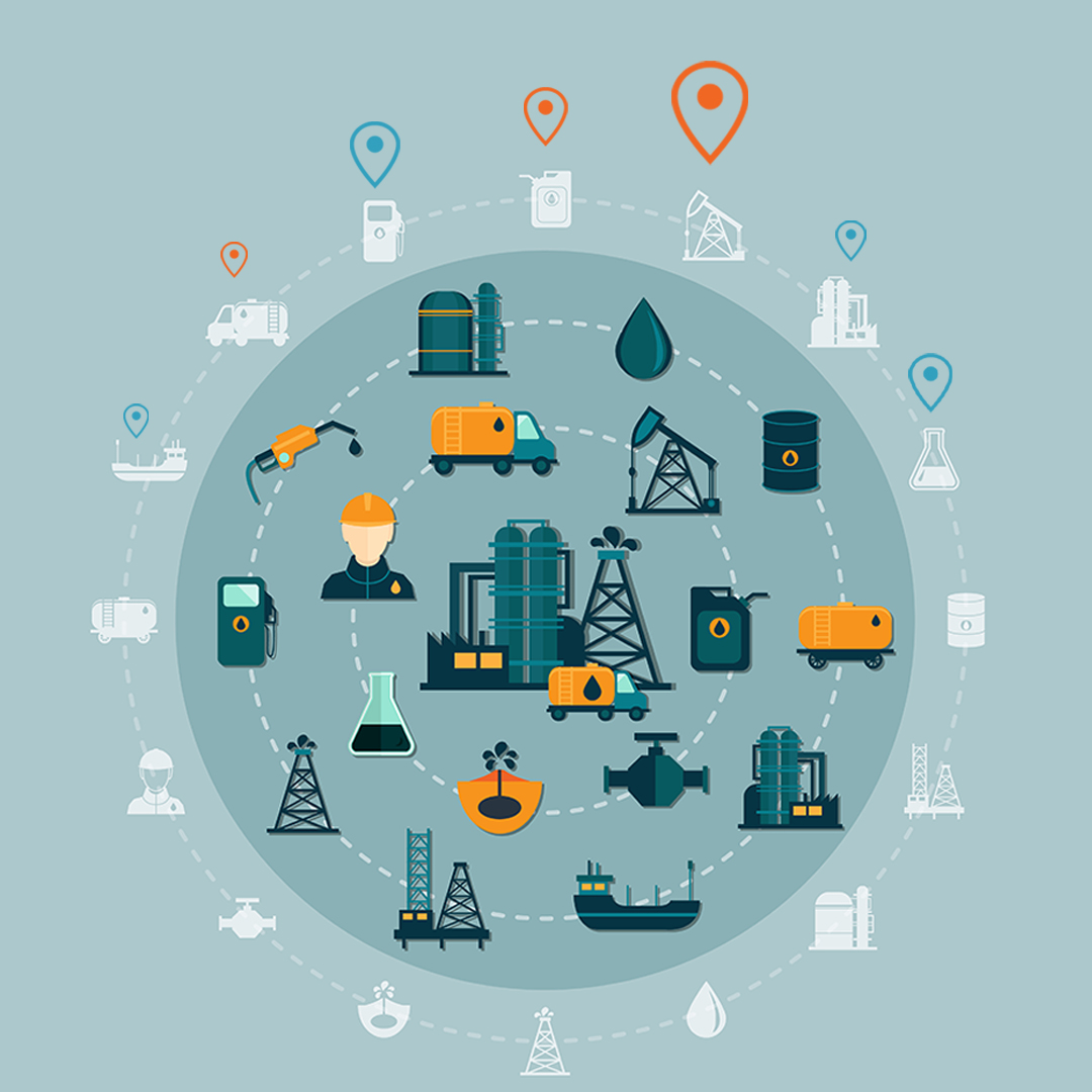 location intelligence, Oil and Gas Operations